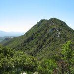 Veduta del Monte Soratte da Casaccia dei Ladri