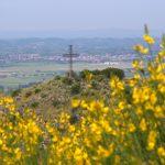 La croce sulla vetta di Monte Catillo