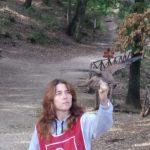 Liberazione di un giovane falco