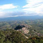 Sant'Oreste, vista da eremeo S.Lucia