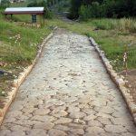 Il basolato romano della via Nomentum-Eretum